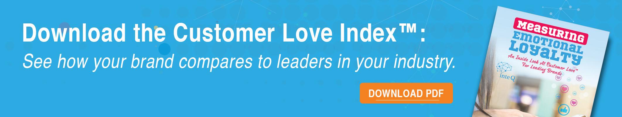 Download Customer Love Index, inte q